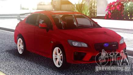 Subaru WRX 2015 Red Original для GTA San Andreas