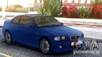 BMW M3 E46 Blue Coupe для GTA San Andreas