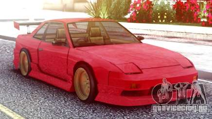 Nissan Silvia S13 Onevia Red для GTA San Andreas