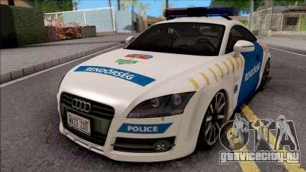 Audi TT Magyar Rendorseg Updated Version для GTA San Andreas