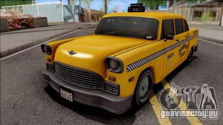 GTA III Declasse Cabbie SA Style для GTA San Andreas
