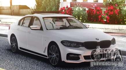 BMW 540i G30 White Edition для GTA San Andreas