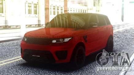 Range Rover Sport SVR Red для GTA San Andreas