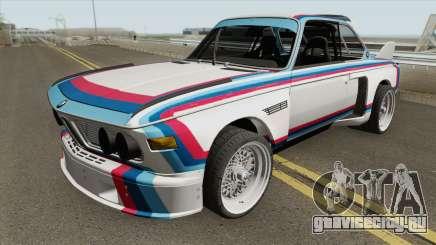 BMW 3.0 CSL 1975 (White) для GTA San Andreas