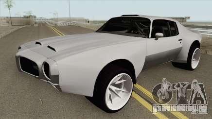 Pontiac Firebird 1970 HQ для GTA San Andreas