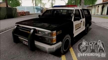 Chevrolet Silverado Police SA Style для GTA San Andreas