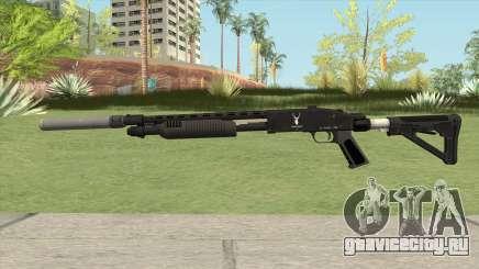 Shrewsbury Pump Shotgun GTA V V2 для GTA San Andreas