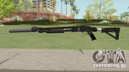 Shrewsbury Pump Shotgun GTA V V6 для GTA San Andreas