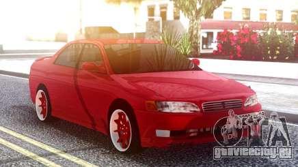 Toyota Mark II Original Red для GTA San Andreas