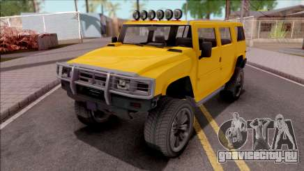GTA V Mammoth Patriot для GTA San Andreas
