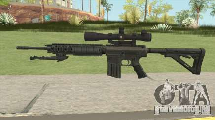 KAC SR-25 Semi Automatic Sniper Rifle для GTA San Andreas