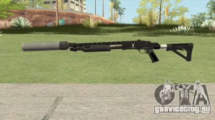 Shrewsbury Pump Shotgun GTA V V3 для GTA San Andreas