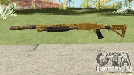 Shrewsbury Pump Shotgun (Luxury Finish) GTA V V5 для GTA San Andreas