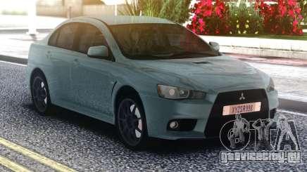 Mitsubishi Lancer Evo 10 для GTA San Andreas