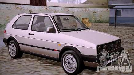 Volkswagen Golf 2 GTI Transit Plates для GTA San Andreas