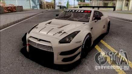 Nissan GT-R Nismo GT3 2014 Paint Job Preset 3 для GTA San Andreas