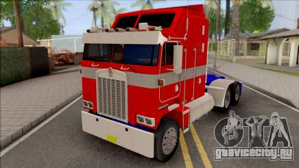 Kenworth K100 Optimus Prime Repintado  для GTA San Andreas