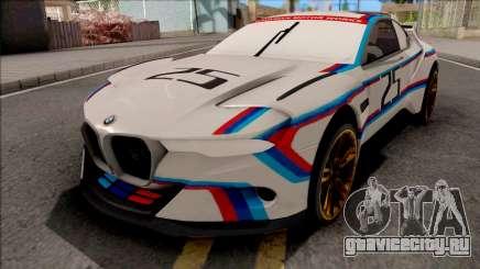 BMW CSL 3.0 Hommage R 2015 для GTA San Andreas