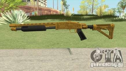 Shrewsbury Pump Shotgun (Luxury Finish) GTA V V1 для GTA San Andreas