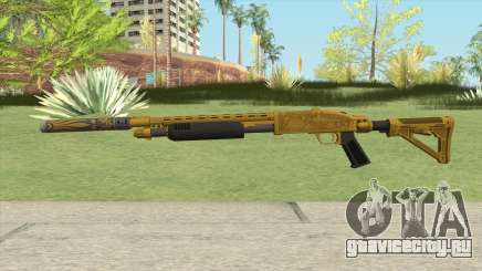 Shrewsbury Pump Shotgun (Luxury Finish) GTA V V2 для GTA San Andreas