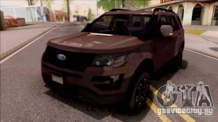 Ford Explorer 2019 для GTA San Andreas