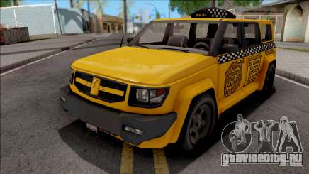 Saints Row IV Steer Taxi для GTA San Andreas