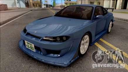 Nissan Silvia S15 GP Sport Initial D Fifth Stage для GTA San Andreas