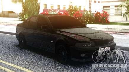 BMW M5 E39 Black Sedan для GTA San Andreas