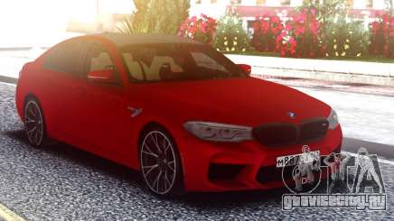 BMW M5 F90 Original Red для GTA San Andreas