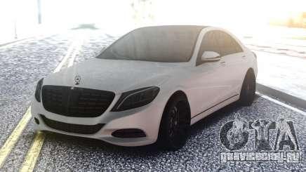 Mercedes-Benz W222 White для GTA San Andreas