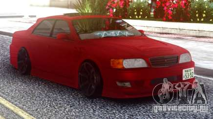 Toyota Chaser Red Sedan для GTA San Andreas
