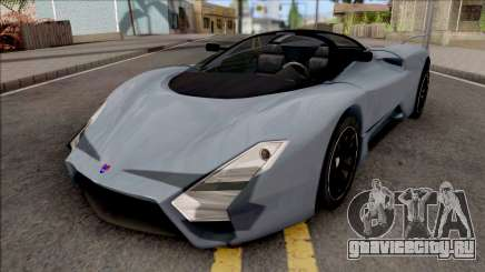 SSC Tuatara 2011 Low Reflections Style для GTA San Andreas