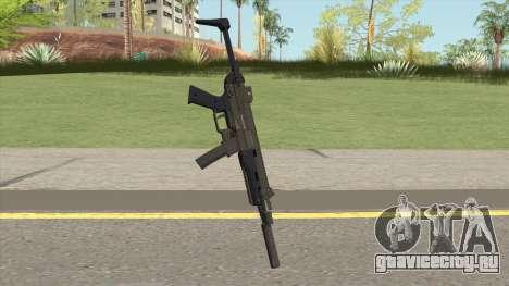 Hawk And Little SMG (Two Upgrades V7) GTA V для GTA San Andreas