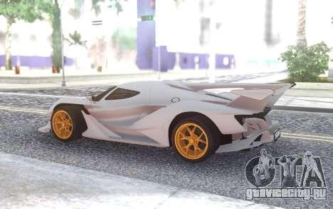 Apollo Intensa Emozione 2019 для GTA San Andreas