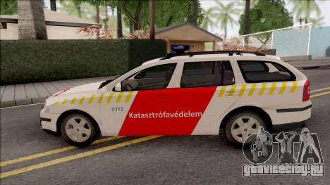 Skoda Octavia Combi 2006 Katasztrofavedelem для GTA San Andreas