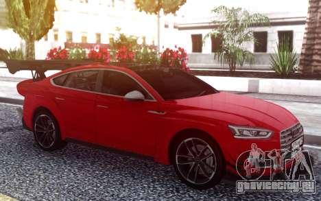 Audi S5 Sportback для GTA San Andreas