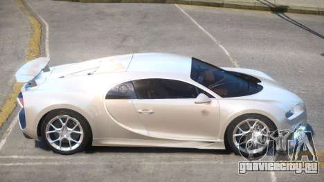 2017 Bugatti Chiron v1.1 для GTA 4