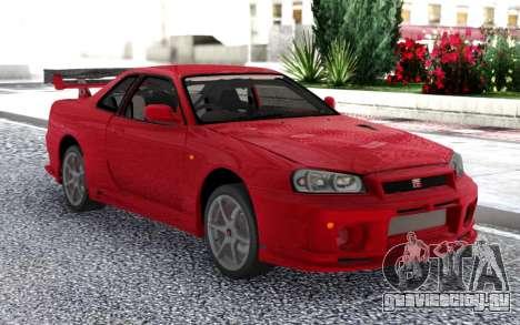 Nissan Skyline GT-R R34 V-Spec II для GTA San Andreas