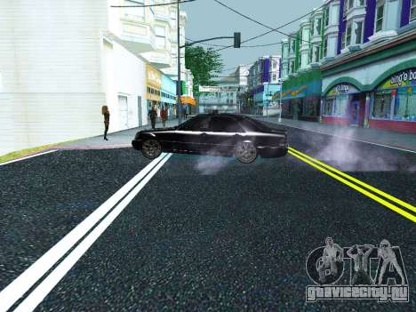 Новые звуки машин и выстрелов для GTA San Andreas