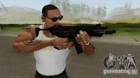 Hawk And Little SMG (With Flashlight V1) GTA V для GTA San Andreas