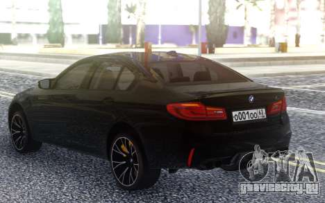 BMW M5 F90 Competition для GTA San Andreas