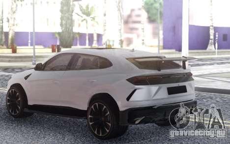 Lamborgini Urus для GTA San Andreas