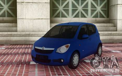 Opel Agila для GTA San Andreas