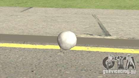 Snowball From GTA V для GTA San Andreas