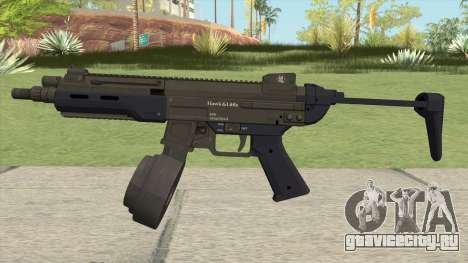 Hawk And Little SMG (With Flashlight V2) GTA V для GTA San Andreas