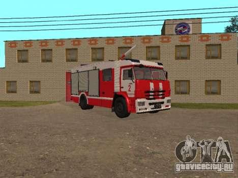 КамАЗ 43118 АЦ для GTA San Andreas