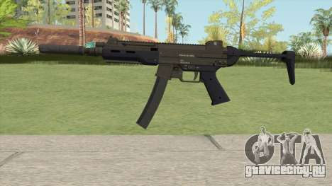 Hawk And Little SMG (Two Upgrades V9) GTA V для GTA San Andreas