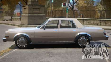 1983 Dodge Diplomat для GTA 4