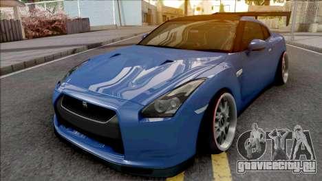 Nissan GT-R Spec V Stance для GTA San Andreas