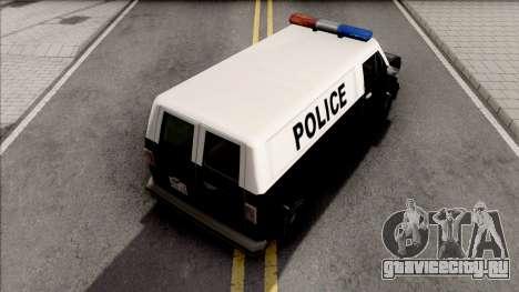 Declasse Burrito Police Van для GTA San Andreas